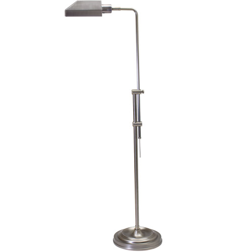 House of Troy CH825-AS Coach 36 inch 60 watt Antique Silver Floor Lamp Portable Light photo