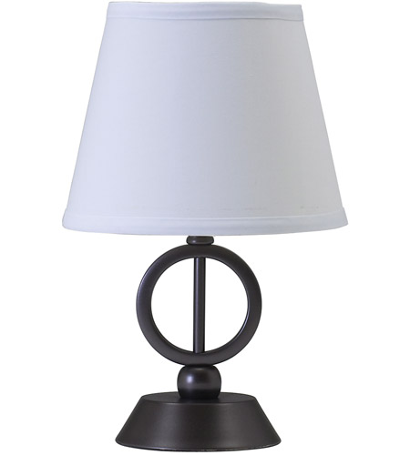 House of Troy Coach 1 Light Table Lamp in Oil Rubbed Bronze CH875-OB photo