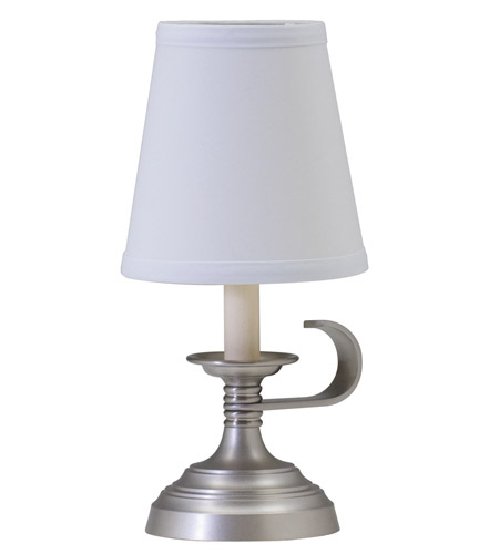 House of Troy Coach 1 Light Table Lamp in Antique Silver CH878-AS photo