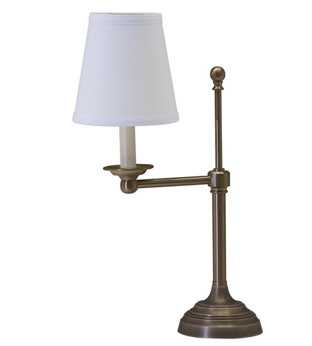 House of Troy Coach 1 Light Table Lamp in Antique Brass CH879-AB photo
