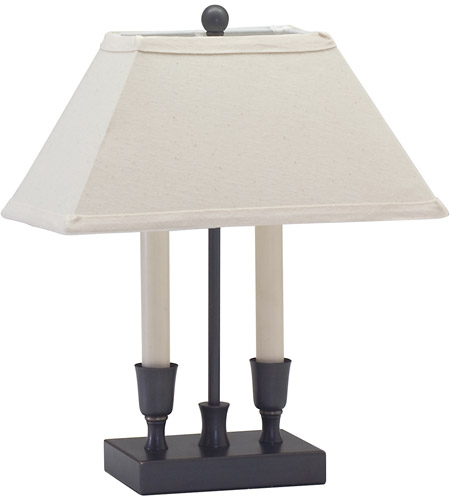 House of Troy Coach 2 Light Table Lamp in Oil Rubbed Bronze CH880-OB photo