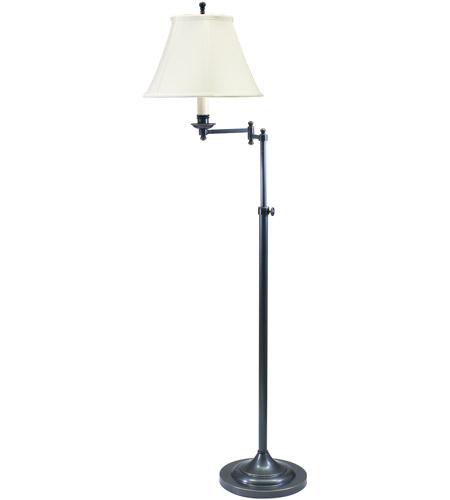 House of Troy CL200-OB Club 45 inch 100 watt Oil Rubbed Bronze Floor Lamp Portable Light photo