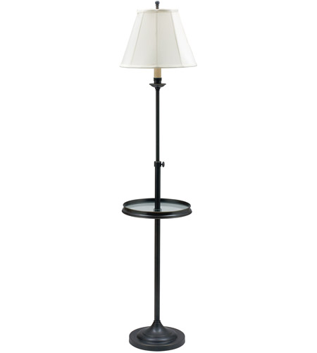 House of Troy CL202-OB Club 45 inch 100 watt Oil Rubbed Bronze Floor Lamp Portable Light photo
