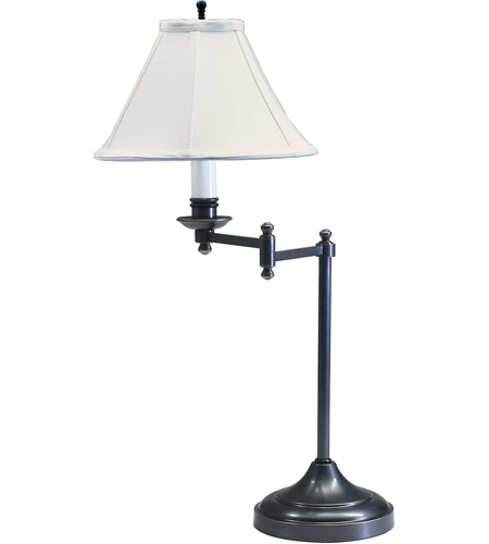 House of Troy CL251-OB Club 25 inch 60 watt Oil Rubbed Bronze Table Lamp Portable Light photo