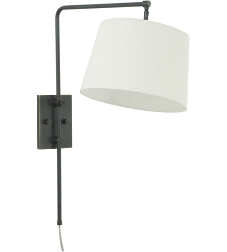 House of Troy CR725-OB Crown Point 13 inch 100 watt Oil Rubbed Bronze Wall Swing Arm Wall Light photo