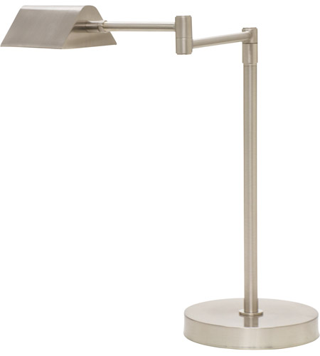 House of Troy D150-SN Delta 18 inch 6 watt Satin Nickel Desk Lamp Portable Light photo