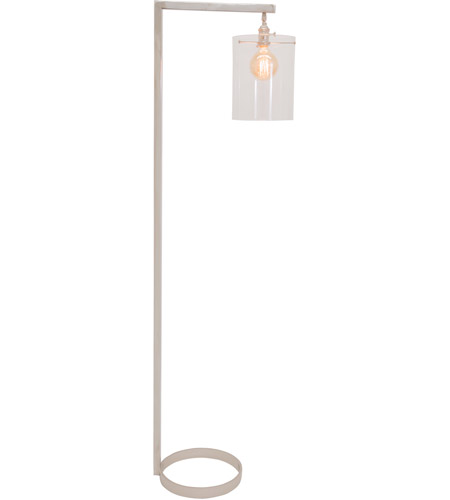 House of Troy D300-PN-G Danby 65 inch 100 watt Polished Nickel Floor Lamp Portable Light photo