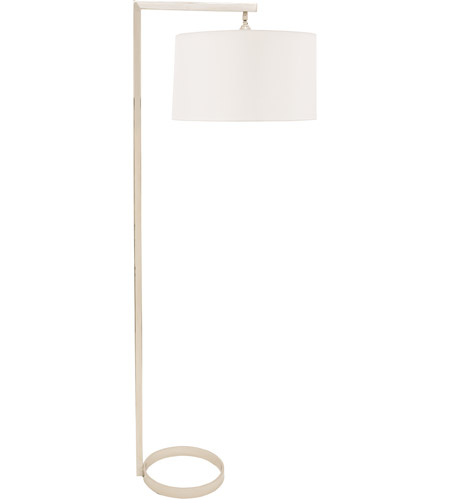 House of Troy D300-PN Danby 65 inch 150 watt Polished Nickel Floor Lamp Portable Light photo