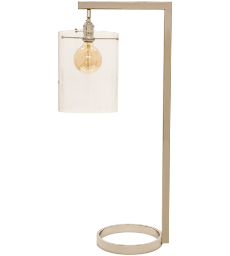 House of Troy D350-PN-G Danby 32 inch 100 watt Polished Nickel Table Lamp Portable Light photo