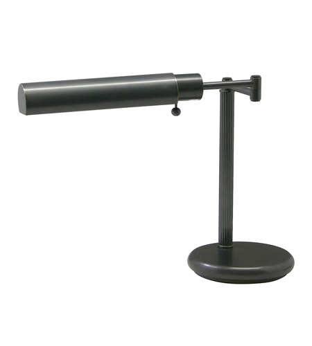House of Troy Home and Office 1 Light Table Lamp in Oil Rubbed Bronze D435-91-F photo
