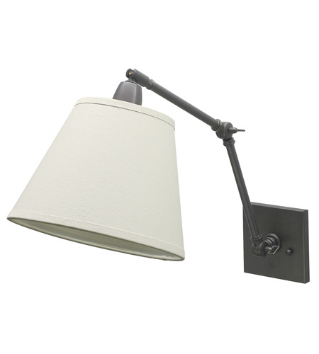 House of Troy Classic Contemporary 1 Light Library Lamp in Oil Rubbed Bronze DL20-OB photo