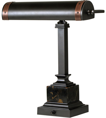House of Troy DSK440-MBAC Steamer 13 inch 60 watt Mahogany Bronze/Antique Copper Desk Lamp Portable Light photo