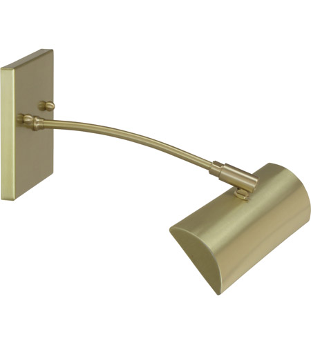 House of Troy ZLEDZ12-51 Zenith 4.5 watt 12 inch Satin Brass Picture Light Wall Light photo