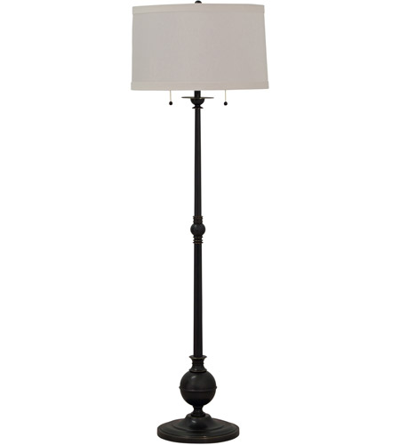 House of Troy E901-OB Essex 57 inch 100 watt Oil Rubbed Bronze Floor Lamp Portable Light photo
