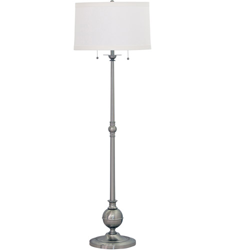 House of Troy E901-SN Essex 57 inch 100 watt Satin Nickel Floor Lamp Portable Light photo