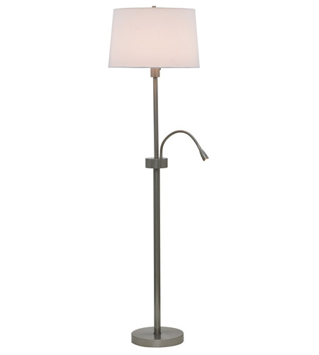House of Troy Eco 2 Light Floor Lamp in Satin Nickel ECO400-SN photo
