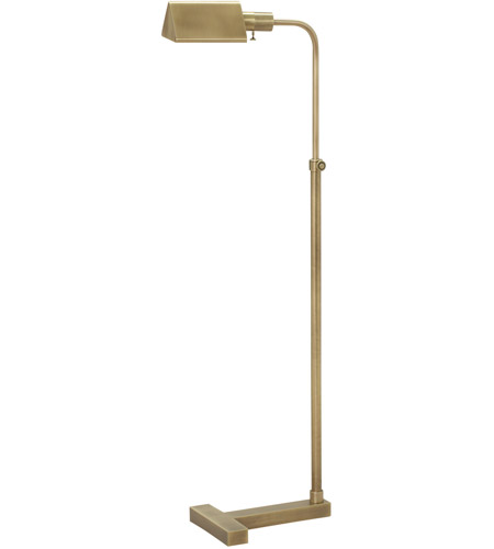 House of Troy F100-AB Fairfax 36 inch 75 watt Antique Brass Floor Lamp Portable Light photo