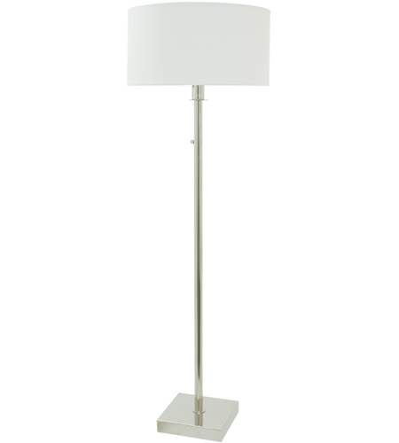 Franklin 64 inch 150 watt polished nickel floor lamp for 150 watt floor lamp