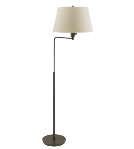 House of Troy Generation 1 Light Floor Lamp in Hammered Bronze G200-HB photo