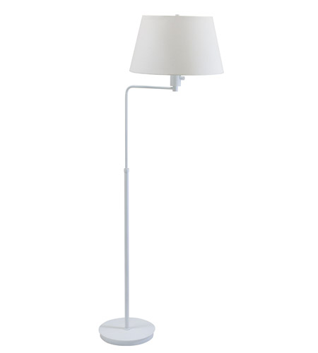 House of Troy Generation 1 Light Floor Lamp in White G200-WT photo