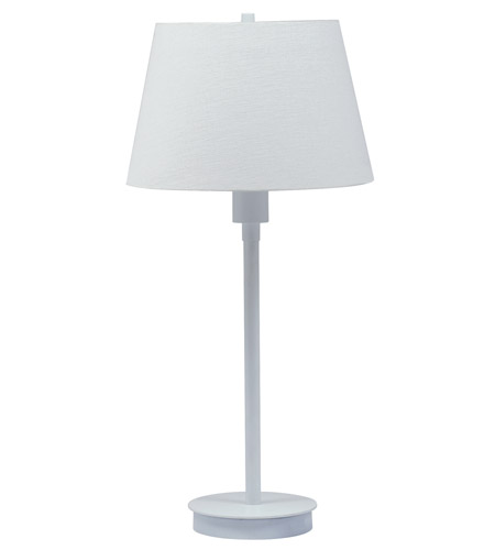 House of Troy Generation 1 Light Table Lamp in White G250-WT photo