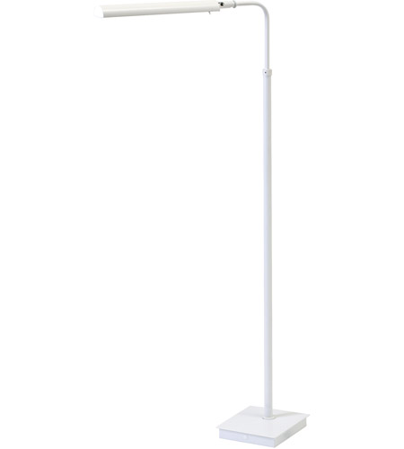 House of Troy G300-WT Generation 37 inch 4.2 watt White Floor Lamp Portable Light photo