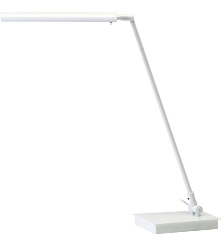 House of Troy G350-WT Generation 11 inch 4.2 watt White Table Lamp Portable Light photo