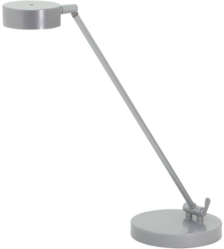 House of Troy G450-PG Generation 11 inch 6 watt Platinum Gray Table Lamp Portable Light photo