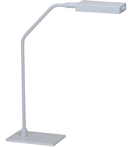 House of Troy G550-WT Generation 17 inch 6.8 watt White Table Lamp Portable Light photo