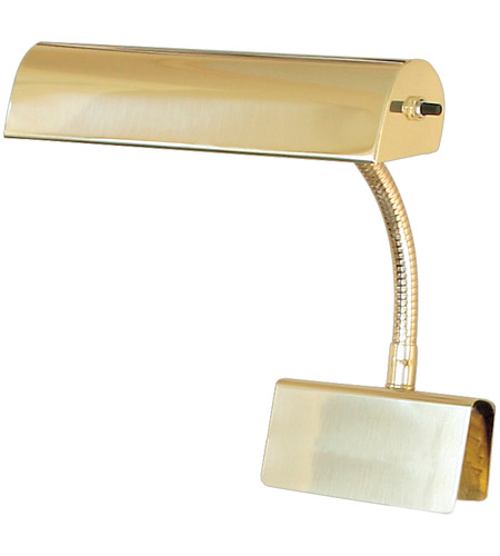 House of Troy Grand Piano 1 Light Piano Lamp in Polished Brass GP10-61 photo