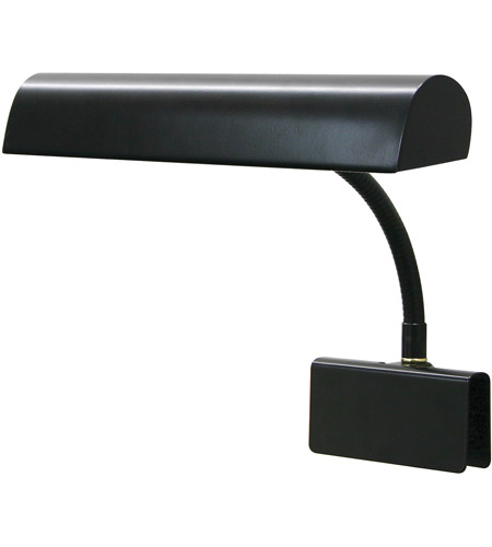 House of Troy GP14-7 Grand Piano 9 inch 40 watt Black Piano Lamp Portable Light photo