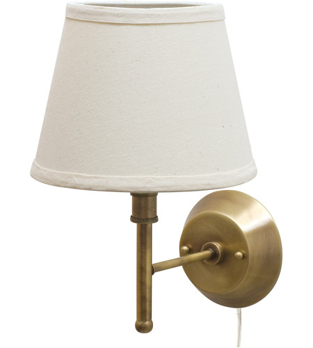 House of Troy GR901-AB Greensboro 1 Light 9 inch Antique Brass Wall Lamp Wall Light photo