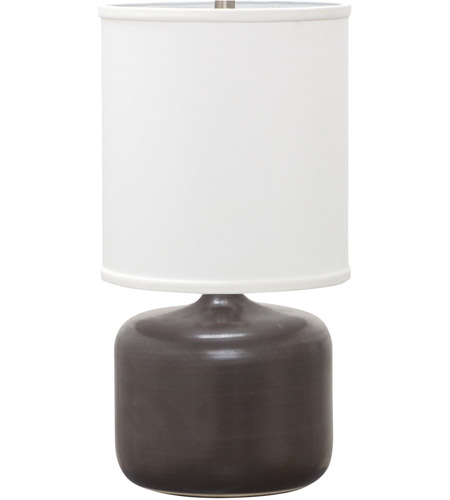 House of Troy GS120-BM Scatchard 20 inch 100 watt Black Matte Table Lamp Portable Light photo