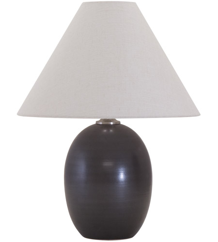 House of Troy GS140-BM Scatchard 23 inch 150 watt Black Matte Table Lamp Portable Light photo