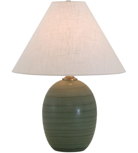 House of Troy GS140-GM Scatchard 23 inch 150 watt Green Matte Table Lamp Portable Light photo