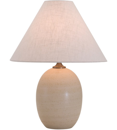 House of Troy GS140-OT Scatchard 23 inch 150 watt Oatmeal Table Lamp Portable Light photo