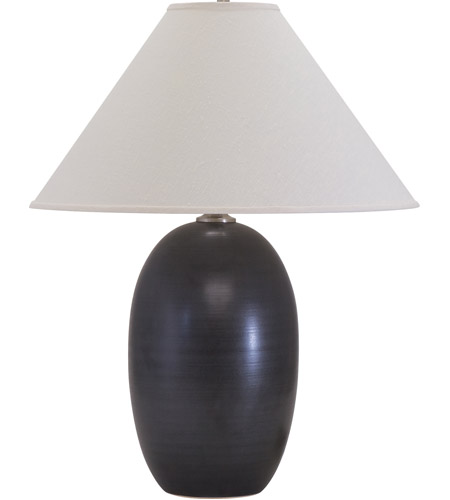 House of Troy GS150-BM Scatchard 29 inch 250 watt Black Matte Table Lamp Portable Light photo