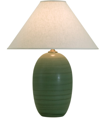 House of Troy GS150-GM Scatchard 29 inch 250 watt Green Matte Table Lamp Portable Light photo
