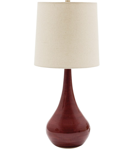 House of Troy GS180-CR Scatchard 23 inch 100 watt Copper Red Table Lamp Portable Light photo