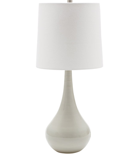 House of Troy GS180-GG Scatchard 23 inch 100 watt Gray Gloss Table Lamp Portable Light photo