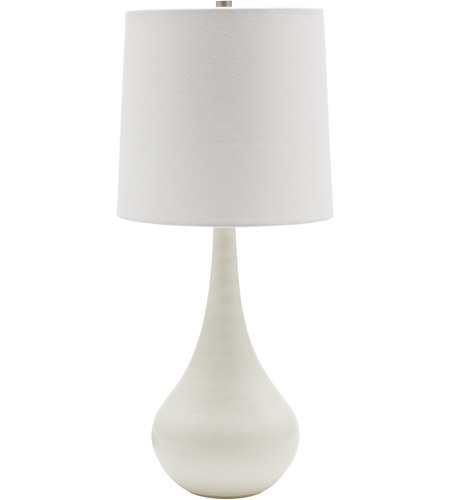 House of Troy GS180-WM Scatchard 23 inch 100 watt White Matte Table Lamp Portable Light photo