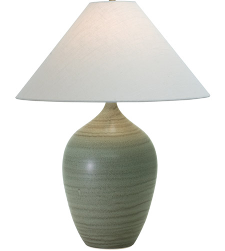 House of Troy GS190-GM Scatchard 27 inch 150 watt Green Matte Table Lamp Portable Light photo