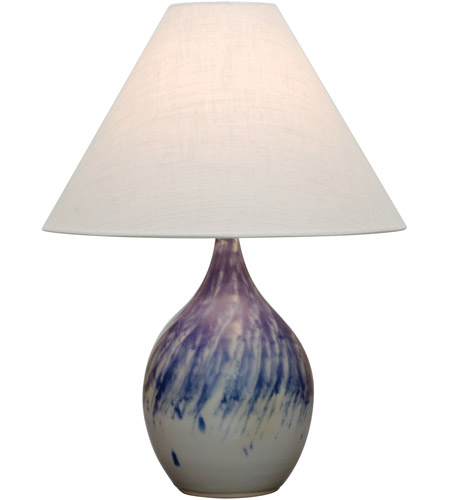 House of Troy GS300-DG Scatchard 24 inch 100 watt Decorated Gray Table Lamp Portable Light in 23.5 photo