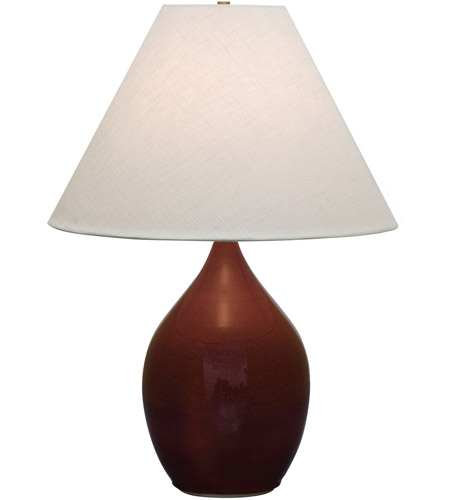 House of Troy GS400-CR Scatchard 28 inch 250 watt Copper Red Table Lamp Portable Light photo