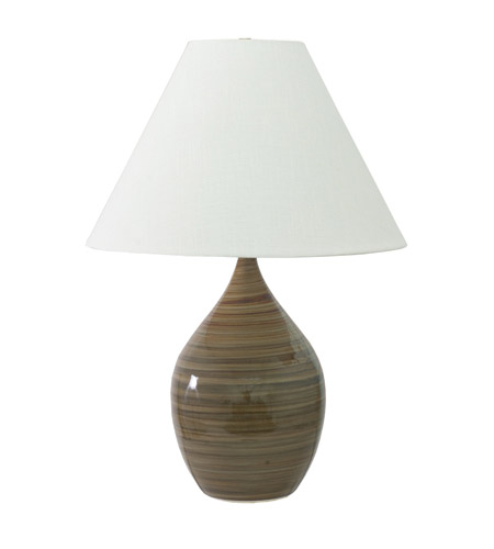 House of Troy GS400-TE Scatchard 28 inch 250 watt Tiger''s Eye Table Lamp Portable Light in Tiger's Eye photo