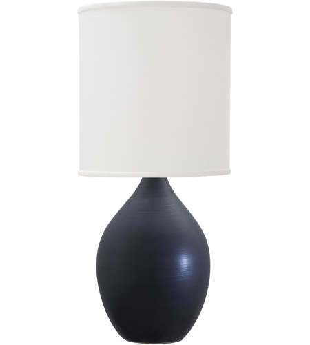 House of Troy GS401-BM Scatchard 30 inch 200 watt Black Matte Table Lamp Portable Light photo