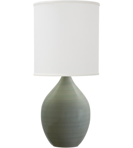 House of Troy GS401-CG Scatchard 30 inch 200 watt Celadon Table Lamp Portable Light photo