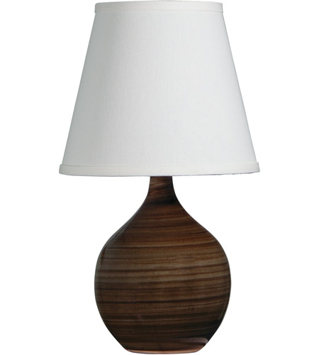 House of Troy GS50-TE Scatchard 14 inch 150 watt Tigers Eye Mini Accent Lamp Portable Light photo
