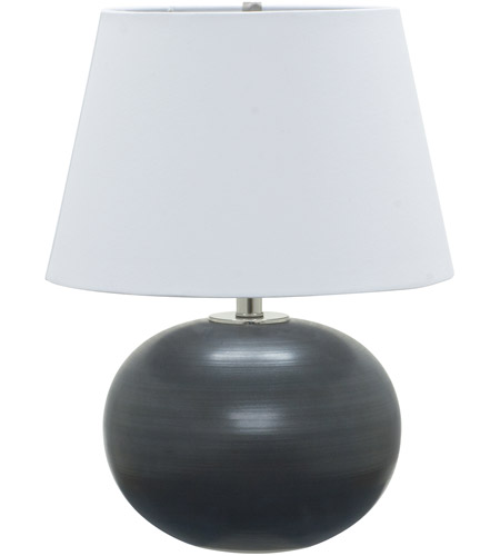 House of Troy GS700-BM Scatchard 22 inch 100 watt Black Matte Table Lamp Portable Light photo