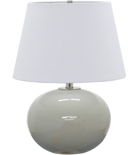 House of Troy GS700-GG Scatchard 22 inch 100 watt Gray Gloss Table Lamp Portable Light photo